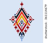vector aztec stile  tribal... | Shutterstock .eps vector #361114679