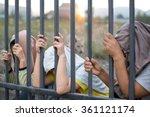 concept immigrant crisis  ...   Shutterstock . vector #361121174