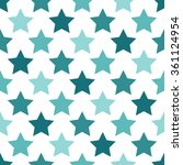 seamless pattern with stars   Shutterstock .eps vector #361124954