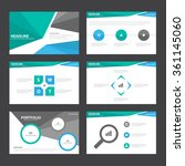 blue green black presentation...   Shutterstock .eps vector #361145060