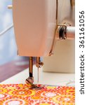 foot of the sewing machine and... | Shutterstock . vector #361161056