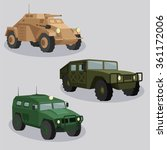 military transportation vector... | Shutterstock .eps vector #361172006
