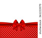 holiday background with red... | Shutterstock . vector #361222070