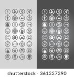 business icons  | Shutterstock .eps vector #361227290