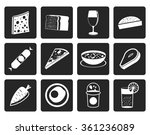 black shop  food and drink... | Shutterstock .eps vector #361236089
