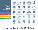 set of programming icons   Shutterstock .eps vector #361238669