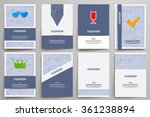 corporate identity vector... | Shutterstock .eps vector #361238894