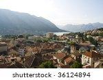kotor old city | Shutterstock . vector #36124894