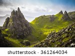 the ancient rocks of old man of ... | Shutterstock . vector #361264034