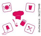 cook icon | Shutterstock .eps vector #361273448
