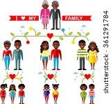 vector concept of african... | Shutterstock .eps vector #361291784