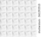 white geometric decorative... | Shutterstock .eps vector #361292513