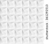 white geometric decorative... | Shutterstock .eps vector #361292513