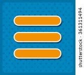 expand menu  icon  vector...