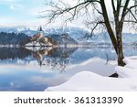 lake bled with st. marys church ...   Shutterstock . vector #361313390