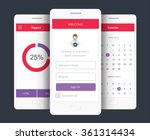 vector illustration of mobile...