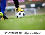 soccer player | Shutterstock . vector #361323020