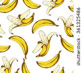 seamless fruit pattern with... | Shutterstock .eps vector #361325486