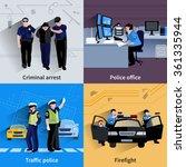 Policeman People 2x2 Design...