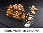 piece of tasty chocolate cake | Shutterstock . vector #361349090