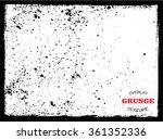 vector grunge texture.distress...   Shutterstock .eps vector #361352336