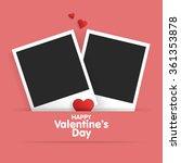 Postcard Happy Valentine's Day...