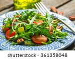 Green Salad With Avocado ...