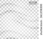 transparent background curve.... | Shutterstock .eps vector #361358300
