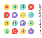 web icons for blog and social...