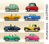 car icon set 6 | Shutterstock .eps vector #361395983