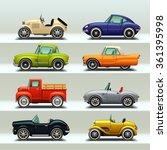 Car Icon Set 8