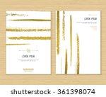 creative card vector template... | Shutterstock .eps vector #361398074