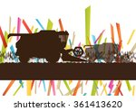 agriculture machinery farm... | Shutterstock .eps vector #361413620