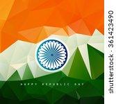poligonal background of... | Shutterstock .eps vector #361423490