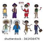 daylife of foreign students in... | Shutterstock .eps vector #361436474
