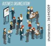 business meeting | Shutterstock .eps vector #361442009
