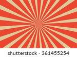 vintage red radial lines...   Shutterstock .eps vector #361455254