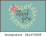 color vector image with words... | Shutterstock .eps vector #361473509
