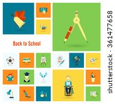 school and education icons | Shutterstock .eps vector #361477658