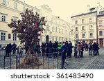 ukraine. lviv   january 6  2016 ... | Shutterstock . vector #361483490