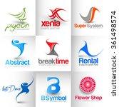 collection of vector logo...   Shutterstock .eps vector #361498574