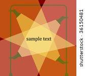 sample text  spotlight  vector... | Shutterstock .eps vector #36150481