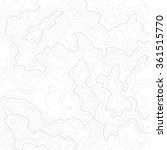 topographic map background... | Shutterstock .eps vector #361515770