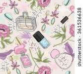 Seamless Beauty Pattern With...