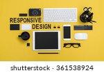 responsive design concept | Shutterstock . vector #361538924