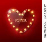 valentine s day background | Shutterstock .eps vector #361542119