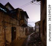 shanghai xiaonanmen old town... | Shutterstock . vector #361549139