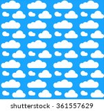 vector illustration of cloud... | Shutterstock .eps vector #361557629