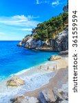 a view of cala goloritze beach  ... | Shutterstock . vector #361559594