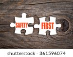 Safety First   Words On Puzzle...